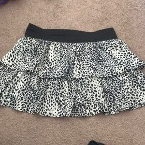 Black And Whiteish Colored Skirt
